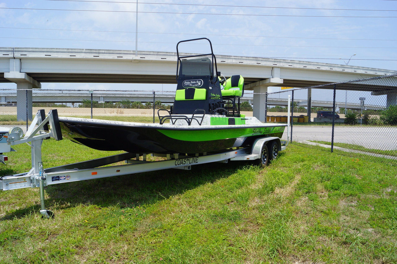 2016 new shallow stalker cat 240 pro center console for Fishing boats for sale in texas