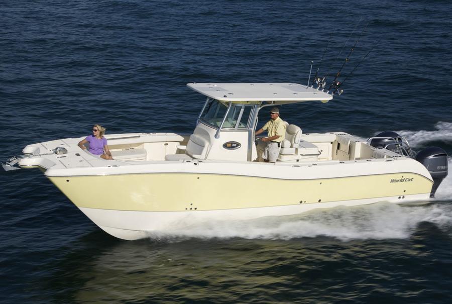 2016 new world cat 320 cc power catamaran boat for sale for Catamaran fishing boats for sale