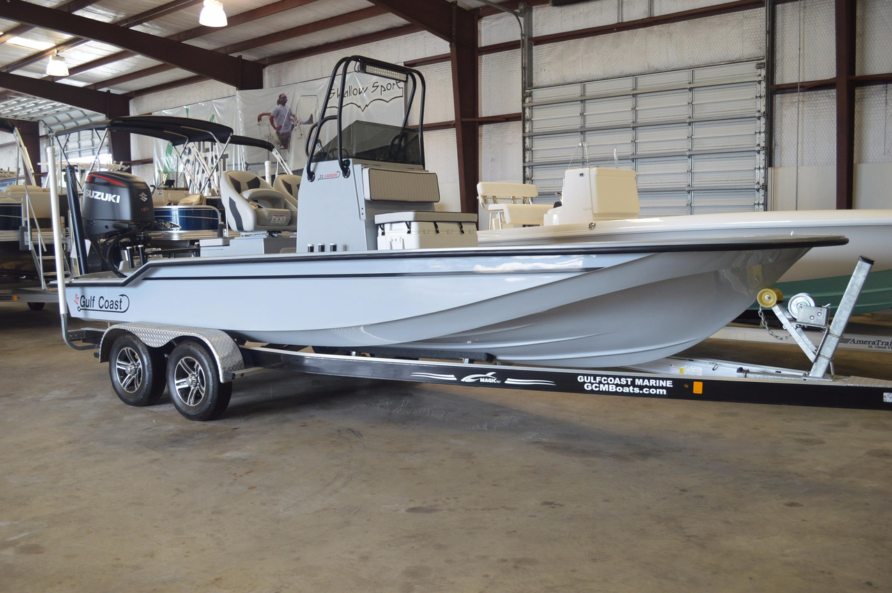 2015 new gulf coast boats 230 variside center console for Fishing boats for sale in texas