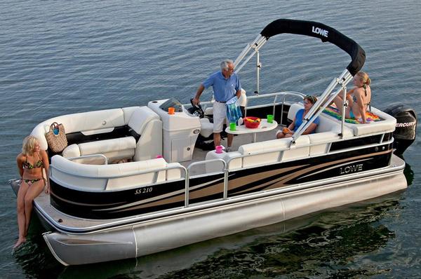 2013 New Lowe Ss210 Super Sport Pontoon Boat For Sale