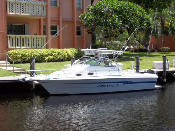 Used Proline 251 Saltwater Fishing Boat For Sale