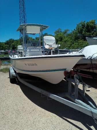 2003 used sea pro sv2300cc center console fishing boat for for Fishing boats for sale in texas