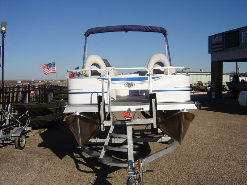 2016 New Apex Marine Qwest Edge 7516 Outfitter Pontoon