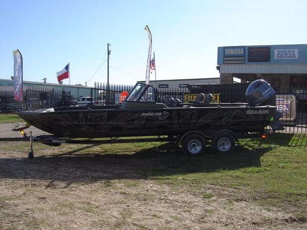 2016 New Seaark Pro Cat 240 Aluminum Fishing Boat For Sale ...