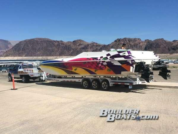 Used Awesome Powerboats 38 SignaturePowerboats 38 Signature High Performance Boat For Sale