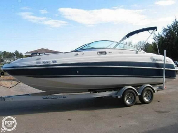 Used Four Winns 244 Funship Deck Boat For Sale