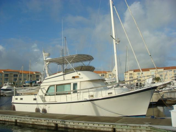 Used Hatteras Long Range Cruiser Aft Cabin Boat For Sale