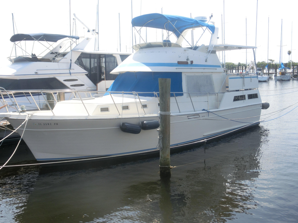 Used Hartmann Palmer Offshore 38 Aft Cabin Boat For Sale