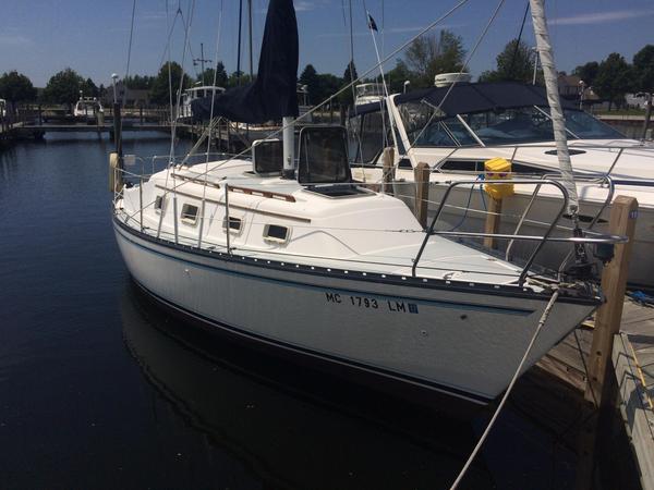 Used Hunter 27 Sloop Sailboat For Sale