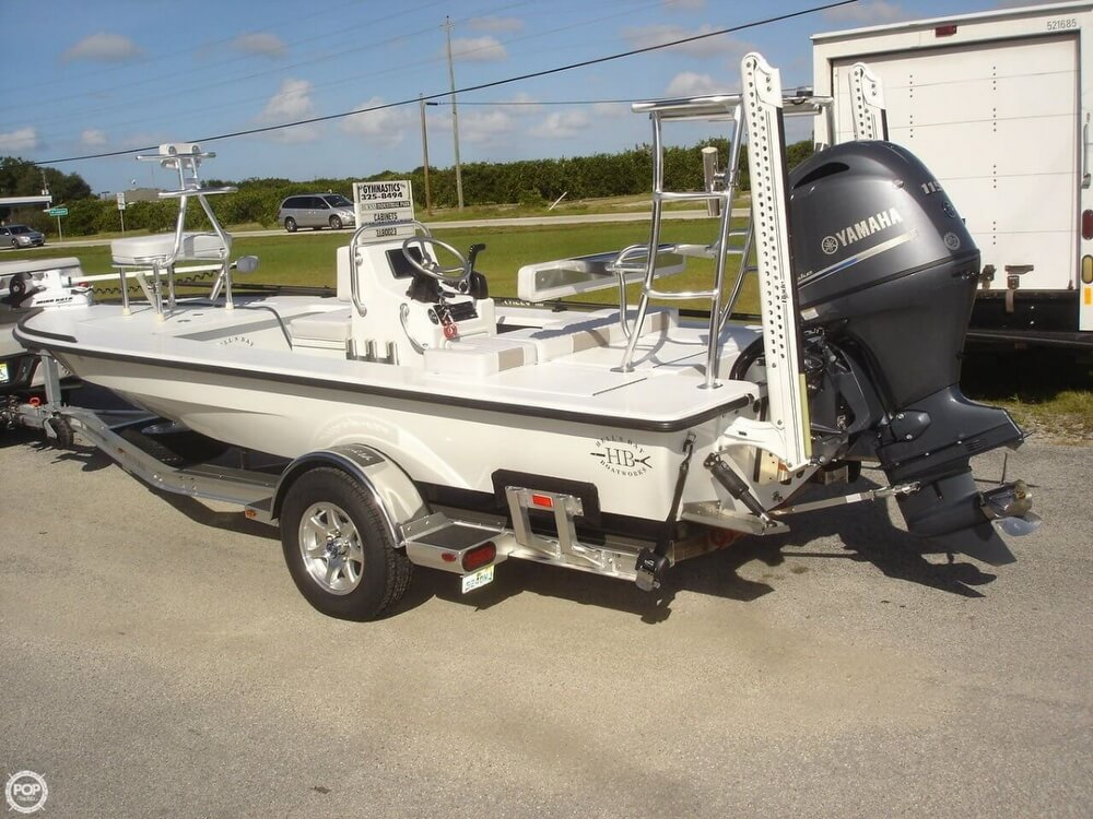 2015 used hells bay marquesa flats fishing boat for sale for Flats fishing boats