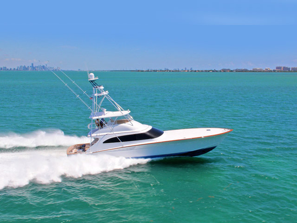 2015 used f and s flybridge sport fisherman sports fishing for Used sport fishing boats for sale
