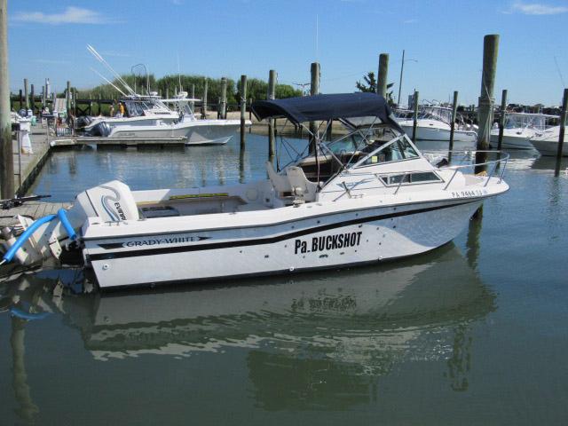 1990 used grady white sea farer sports fishing boat for for Grady white fishing boats