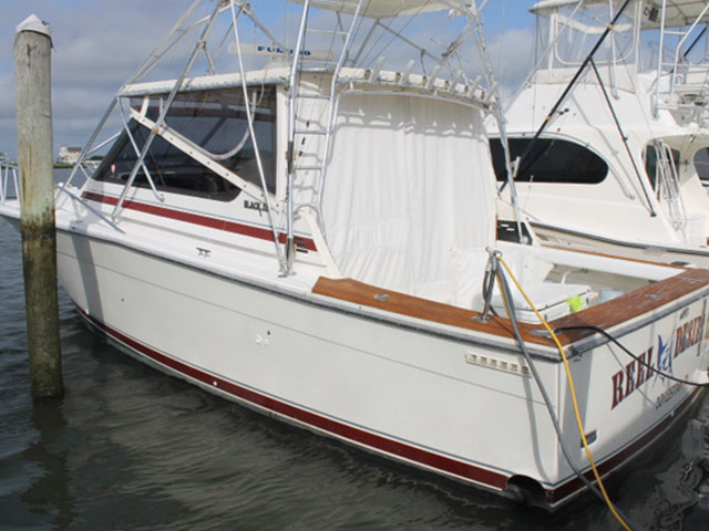 1988 used blackfin combi sports fishing boat for sale for Fishing boats for sale nj