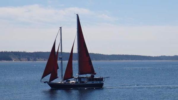Used Nauticat Pilothouse Schooner 44 Schooner Sailboat For Sale