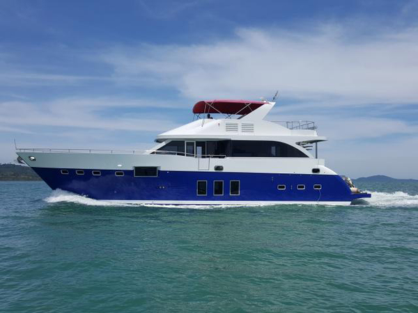 Used Custom 75 Cruiser Motor Yacht For Sale