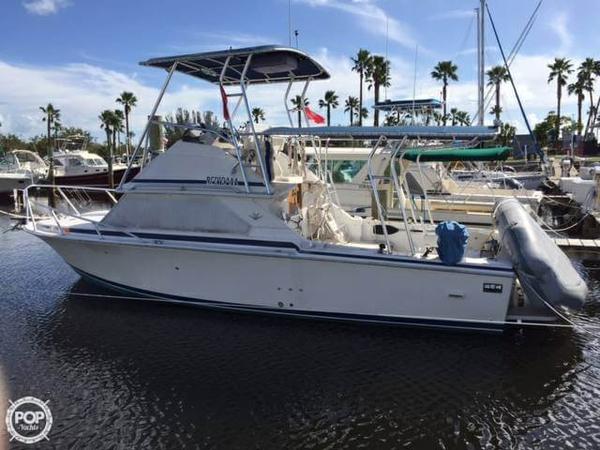 Used Bertram 28 Sport Fisherman Sports Fishing Boat For Sale