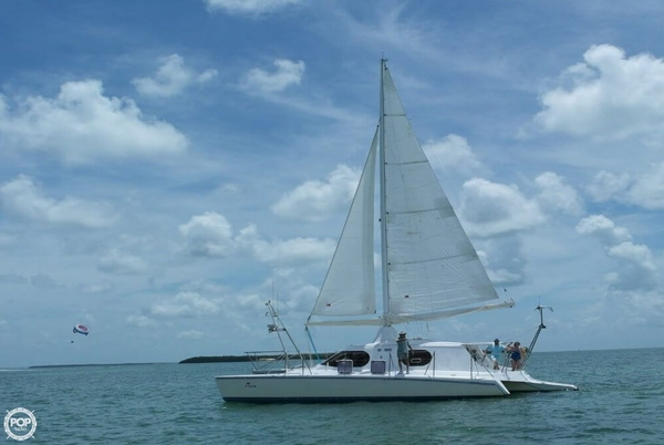 Used Walker Wingsail 45 converted to Carbospars Aerorig Motorsailer Sailboat For Sale