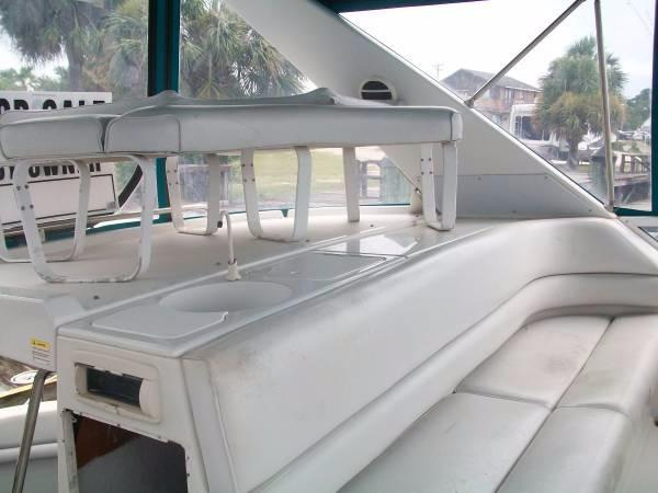 1994 used chris craft 421 continental motor yacht for sale for Used boat motors panama city fl