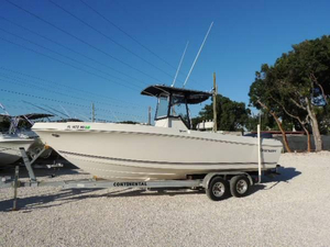 Used Clearwater 25 Center Console Fishing Boat For Sale