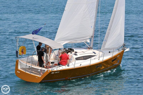 Used Zephyr Cobra 33 Racer and Cruiser Sailboat For Sale