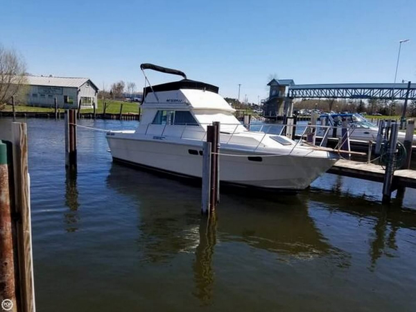 Used Wellcraft 310 Sedan Cruiser Sports Fishing Boat For Sale