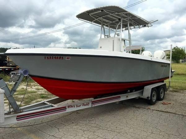 2002 used contender center console fishing boat for sale for Used center console fishing boats for sale