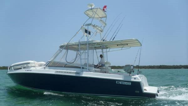 Used Contender Express Cruiser Boat For Sale