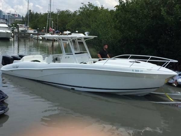 2005 used deep impact center console fishing boat for sale for Deep sea fishing boats for sale