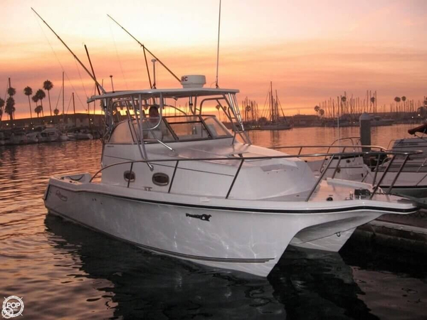 Used Prokat 2860 WA Power Catamaran Boat For Sale