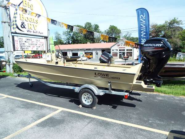 New Lowe Roughneck 1860 Tunnel Pathfinder Bass Boat For Sale