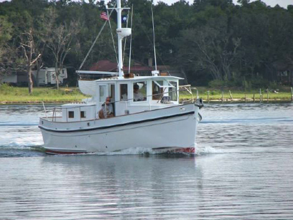 Used Sea Island Redwing Tug Trawler Boat For Sale