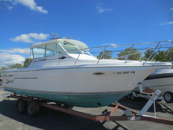 Used Baha Cruisers 278 Fisherman Freshwater Fishing Boat For Sale