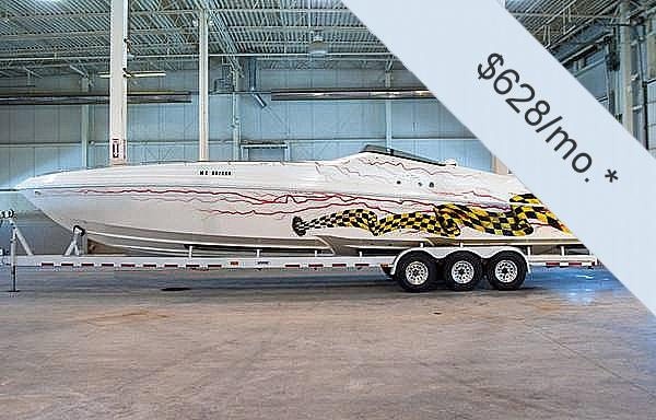 Used Black Thunder 43 Offshore High Performance Boat For Sale