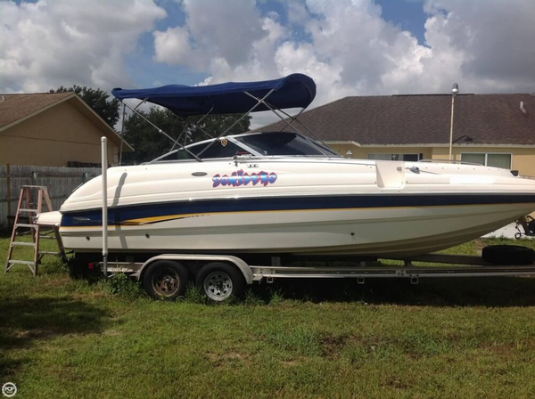 Used Chaparral Sunesta 233 Deck Boat For Sale