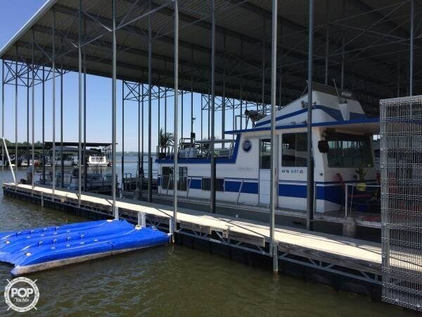 Used Silver Queen 36 House Boat For Sale
