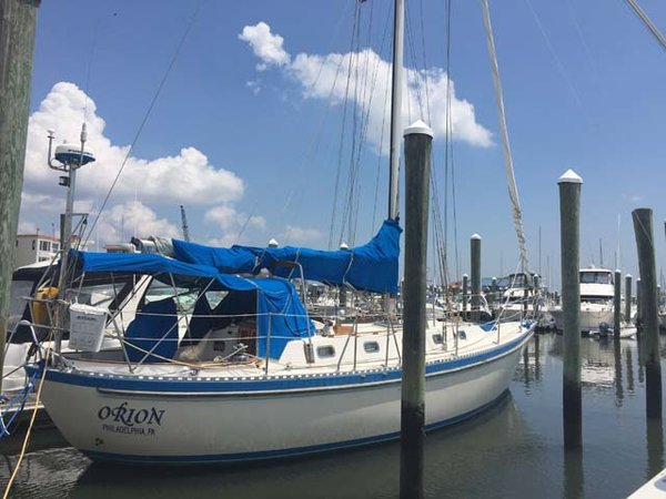 Used Tayana 42' Tayana Aft Cockpit Cruiser Sailboat For Sale
