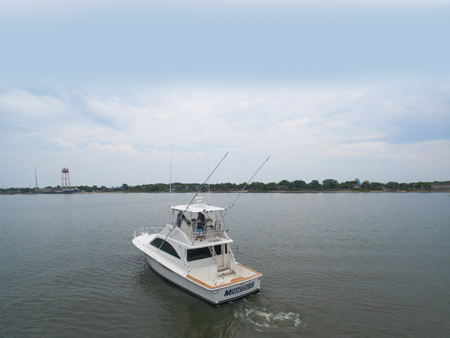 2005 used ocean yachts sports fishing boat for sale for Fishing boats for sale nj