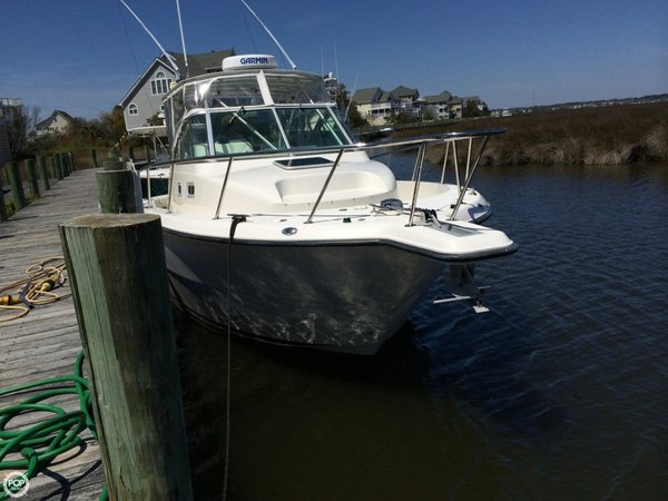 Used Rampage 30 Walkaround Fishing Boat For Sale