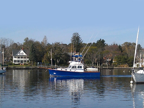 Used Lee S. Wilbur Express Sportfish Downeast Fishing Boat For Sale
