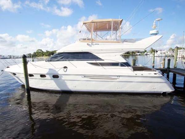 Used Viking Princess 46 Flybridge Motor Yacht For Sale