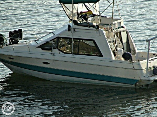 Used Bayliner 3058 Command Bridge Sports Fishing Boat For Sale