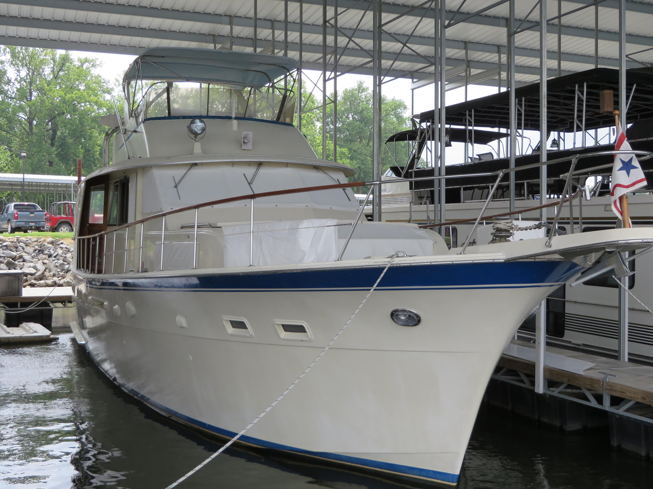 1980 used hatteras 53 motor yacht motor yacht for sale for Used motor yacht for sale