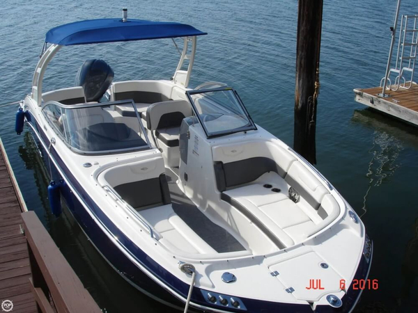 Used Chaparral 250 SunCoast Deck Boat For Sale