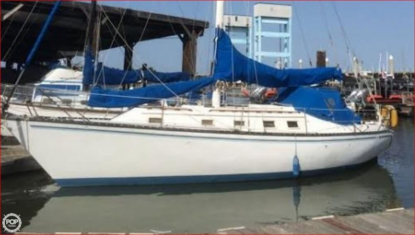 Used Hunter 37 Cherubini Cutter Sailboat For Sale