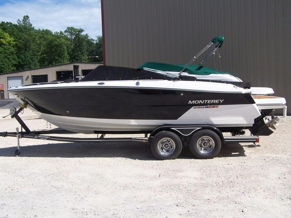 New Monterey 238ss Bowrider Boat For Sale