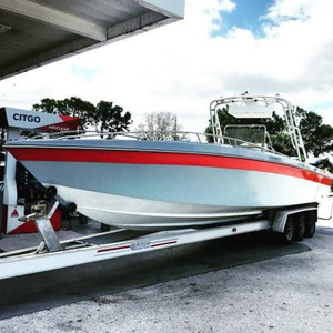 Used Scarab Center Console Fishing Boat For Sale