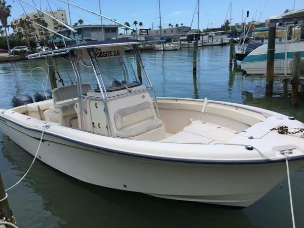 2005 used grady white 283 center console fishing boat for for Used fishing boats for sale in florida