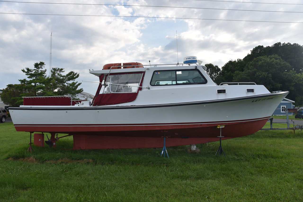 1997 Used Williams 36 Custom Deadrise Passenger Boat For