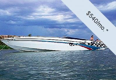 Used Stryker 38 Thunder High Performance Boat For Sale