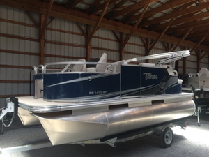 New Tahoe Pontoons Sport Bow Fish 14' Pontoon Boat For Sale